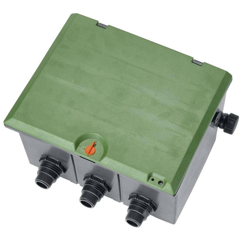 Коробка для клапана для полива V3 (для максимум трех клапанов) GARDENA
