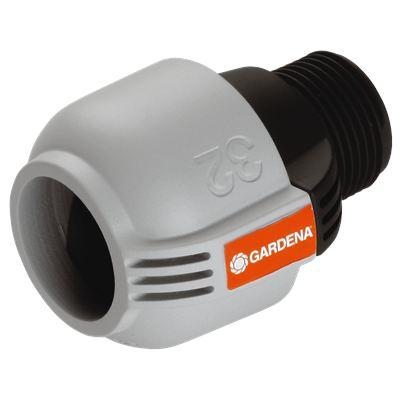Соединитель 32 мм x 1 - наружная резьба GARDENA