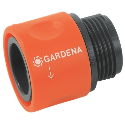 Коннектор для резьбовых шлангов 3/4 GARDENA