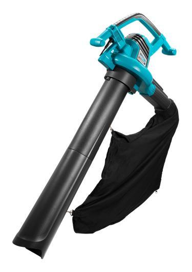 ErgoJet3000 воздуходув-пылесос, с мешком для сбора мусора 45л. в к-те (310км/ч, изм. 16:1) GARDENA