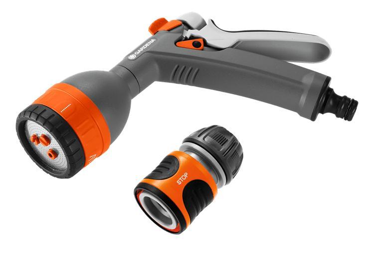 Пистолет для полива многофункциональный Classic+коннектор 1/2