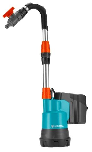 Насос для резервуаров с дождевой водой аккумуляторный 2000/2 Li-18