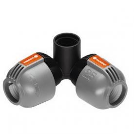 Cоединитель L-образный угловой 25 мм х 3/4 - внутренняя резьба GARDENA