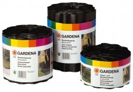 Бордюр черный 9 см GARDENA