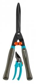 Ножницы для живой изгороди механические Classic 540 FSC® + секатор Classic GARDENA