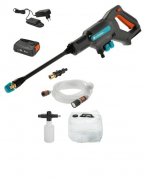 Мойка высокого давления аккумуляторная AquaClean Li-18 Premium Set
