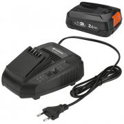 Комплект: аккумулятор литий-ионный P4A PBA 18V/45 и устройство для ускоренной зарядки P4A AL 1830 CV