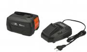 Комплект: аккумулятор литий-ионный P4A PBA 18V/72 и устройство для ускоренной зарядки P4A AL 1830 CV
