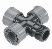 4-канальный соединитель PRO для подключения клапана для полива GARDENA