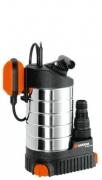 Насос дренажный для чистой воды 21000 inox Premium GARDENA