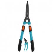 Ножницы для живой изгороди телескопические Comfort 700 T + секатор Classic GARDENA