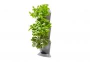 Базовый модуль  для вертикального садоводства угловой (3 емкости, 3 крышки, 1 поддон, 6 клипс)