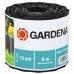 Бордюр черный 15 см GARDENA